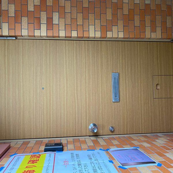 アパート 玄関扉 リフォーム サムネイル